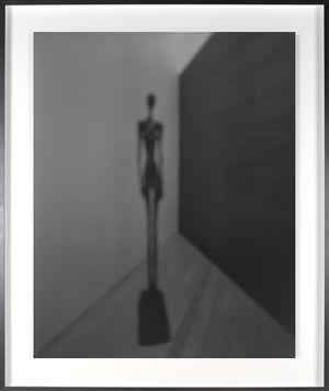 Past Presence 070, Grande Femme III, Alberto Giacometti by Hiroshi Sugimoto contemporary artwork
