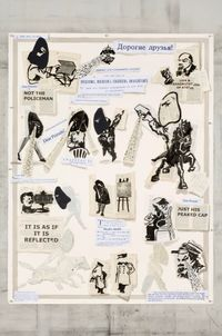 News From Nowhere by William Kentridge contemporary artwork works on paper, print