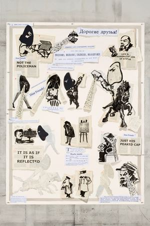 News From Nowhere by William Kentridge contemporary artwork