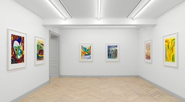 Contemporary art exhibition, Shara Hughes, Day By Day By Day at Galerie Eva Presenhuber, Zurich