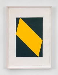 Untitled by Carmen Herrera contemporary artwork painting, works on paper