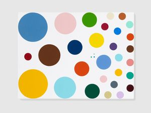 Crystal Violet by Damien Hirst contemporary artwork