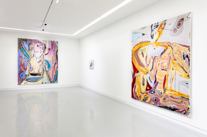 Exhibition view:Manuel Mathieu, Negroland: A Landscape of Desires, Elizabeth Street, Chicago (24 April–3 July 2021). Courtesy Kavi Gupta.