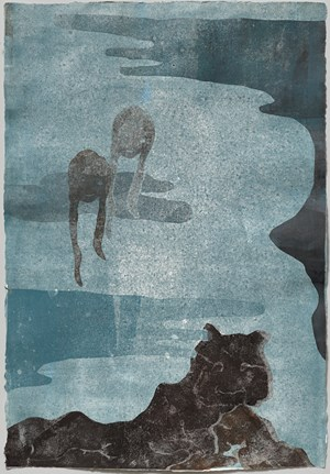 La Land by Leiko Ikemura contemporary artwork