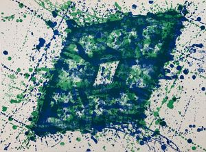 Untitled 3 by Sam Francis contemporary artwork print