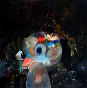 Birdbrain by George Condo contemporary artwork
