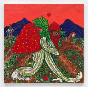 Strawberry fields by Daniel Gibson contemporary artwork