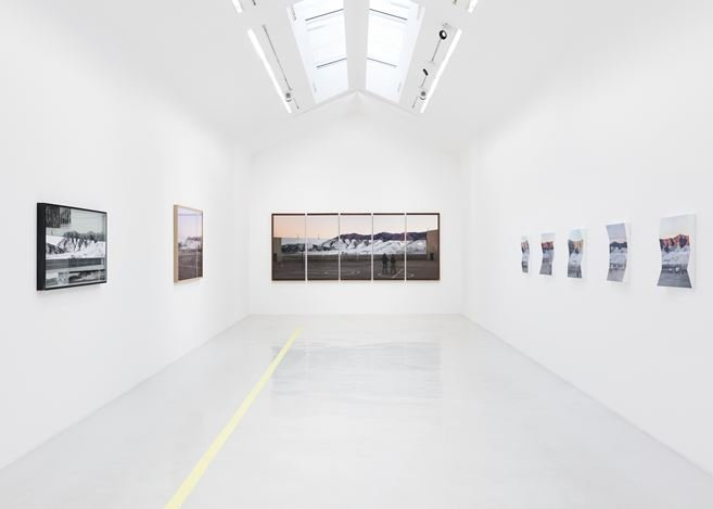 Exhibition view: JR, Tehachapi, Perrotin, Paris (29 August–26 September 2020). © JR. Courtesy the artist and Perrotin.