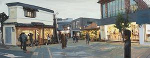 Study of Green-Seoul-Vacant Lot-Samcheong-dong 1 by Honggoo Kang contemporary artwork