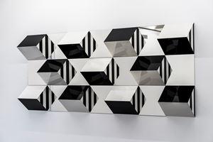 Prismas e Espelhos, alto-relevo - n°4 , trabalho situado by Daniel Buren contemporary artwork