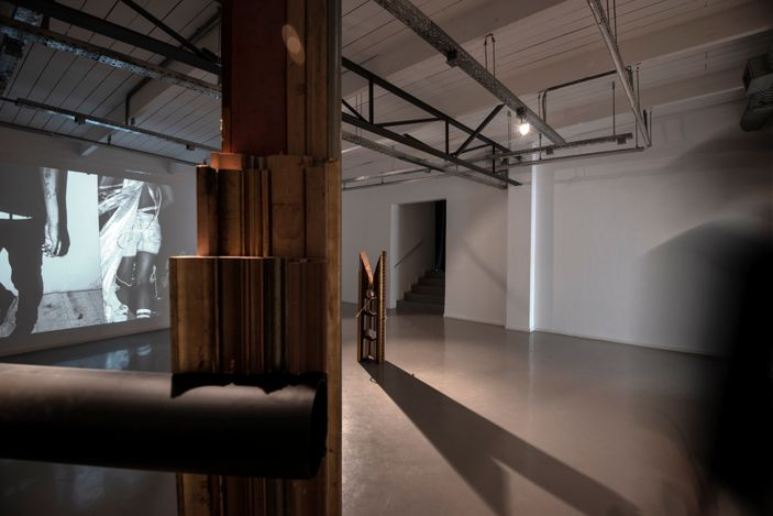 Exhibition view: Group Exhibition,Black Luminosity | Collaboration Gcotyelwa Mashiqa,SMAC Gallery,Stellenbosch (20 March–20 May 2021). Courtesy SMAC Gallery.