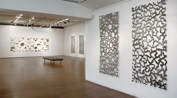 Contemporary art exhibition, Lindy Lee, One Billion Worlds at Roslyn Oxley9 Gallery, Sydney, Australia