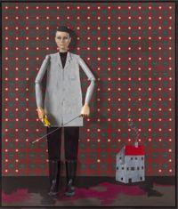 Blind Spot Detecting Unit (Engineer) by Thomas Zipp contemporary artwork painting, mixed media