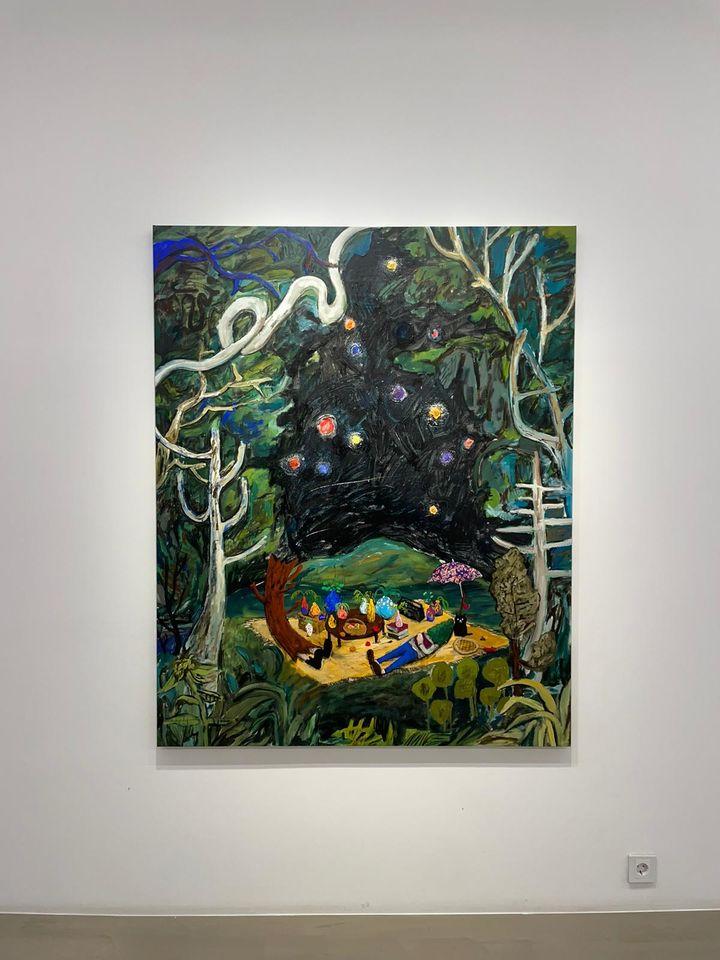 Exhibition view: Yuichi Hirako, Mount Mariana, Gallery Baton, Seoul (13 August–16 September 2021). Courtesy Gallery Baton.