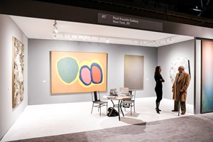 Paul Kasmin Gallery at ADAA The Art Show 2016. Photo: © Charles Roussel & Ocula