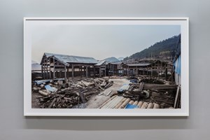 Wang Family Ancestral Hall Photograph, 2015. Color print 129,3 x 216,5 x 6 cm. Courtesy: the artist and GALLERIA CONTINUA, San Gimignano / Beijing / Les Moulins. Photo by: Oak Taylor-Smith