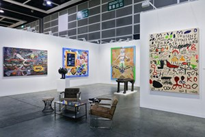 Gajah Gallery, Art Basel in Hong Kong (29–31 March 2018). Courtesy Ocula. Photo: Charles Roussel.