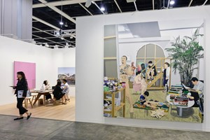Perrotin, Art Basel in Hong Kong (29–31 March 2018). Courtesy Ocula. Photo: Charles Roussel.