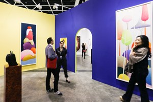 The Modern Institute, Art Basel in Hong Kong (29–31 March 2018). Courtesy Ocula. Photo: Charles Roussel.