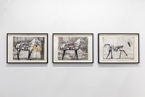 William Kentridge, Goodman Gallery, Art Basel in Hong Kong (29–31 March 2019). Courtesy Ocula. Photo: Charles Roussel.