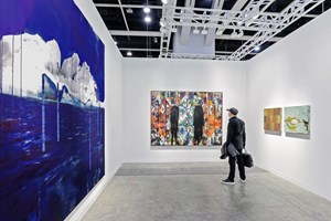 Lorna Simpson, Rashid Johnson and Ellen Gallagher, Hauser & Wirth, Art Basel in Hong Kong (29–31 March 2019). Courtesy Ocula. Photo: Charles Roussel.