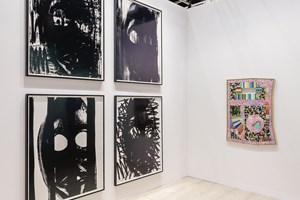 Adam Pendleton and Lucas Samaras, Pace Gallery, Art Basel in Hong Kong (29–31 March 2019). Courtesy Ocula. Photo: Charles Roussel.