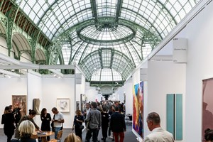 FIAC Paris (19–22 October 2017). Courtesy Ocula. Photo: Charles Roussel.