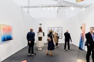 Galería OMR, Frieze Los Angeles (15–17 February 2019). Courtesy Ocula. Photo: Charles Roussel.