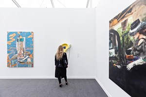 Metro Pictures, Frieze Los Angeles (15–17 February 2019). Courtesy Ocula. Photo: Charles Roussel.