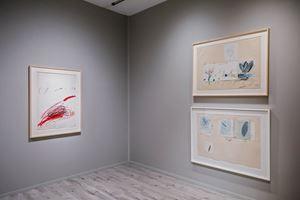 Cy Twombly, Gagosian, Frieze Masters (3–6 October 2019). Courtesy Ocula. Photo: Charles Roussel.
