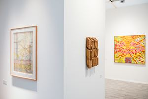 Mildred Thompson, Galerie Lelong & Co. New York, Frieze Masters (3–6 October 2019). Courtesy Ocula. Photo: Charles Roussel.