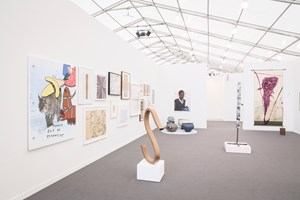 Blum & Poe at Frieze New York 2016. Photo: © Charles Roussel & Ocula