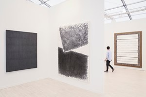 Tina Kim Gallery & Kukje Gallery at Frieze New York 2016. Photo: © Charles Roussel & Ocula