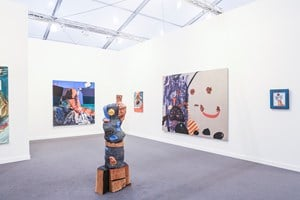 Thomas Dane Gallery at Frieze New York 2016. Photo: © Charles Roussel & Ocula