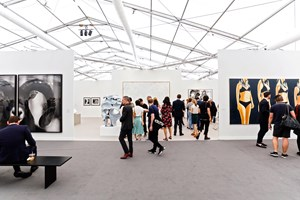 Frieze New York (3–6 May 2018). Courtesy Ocula. Photo: Charles Roussel.