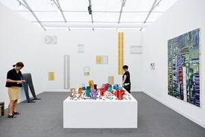 Gallery Isabelle van den Eynde, Frieze New York (3–6 May 2018). Courtesy Ocula. Photo: Charles Roussel.