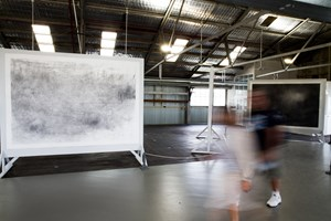 Emma McNally, 'Choral Fields 1–12,' 2014-16. Installation view (2016) at Cockatoo Island for the 20th Biennale of Sydney. Courtesy the artist. Photograph: Ben Symons.