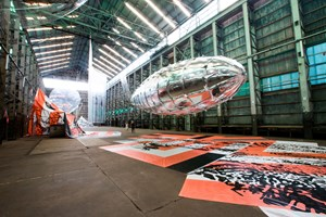Lee Bul, 'Willing To Be Vulnerable', 2015–16. Installation view at the 20th Biennale of Sydney (2016) at Cockatoo Island. Courtesy the artist. Photographer: Ben Symons.