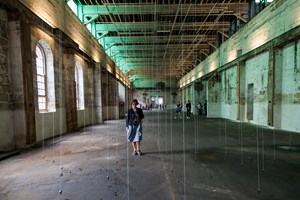 William Forsythe, 'Nowhere and Everywhere at the Same Time, no. 2', 2013. Installation view of the 20th Biennale of Sydney (2016) at Cockatoo Island. Courtesy the artist. Photographer: Bob Barrett.