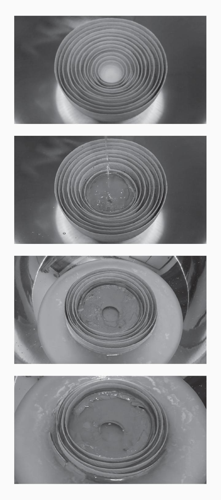 Albert Yonathan Setyawan, Metaphor of the Human Condition: Meditation on Silence—The Dissolving Bowl (2015) (still). Video. 60 min. Courtesy Mizuma Gallery, Singapore/Tokyo.