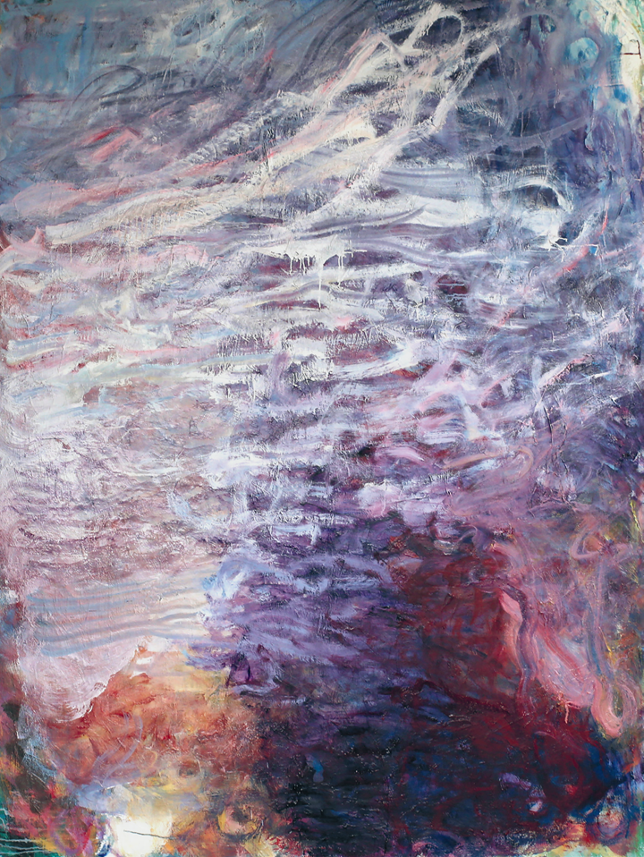 Frank Holliday, Heart and Soul (2014). Oil on canvas. 243 × 183 cm. Courtesy the artist and Partners & Mucciaccia Modern & Contemporary Gallery, Rome/Singapore/London/Cortina D'Ampezzo.
