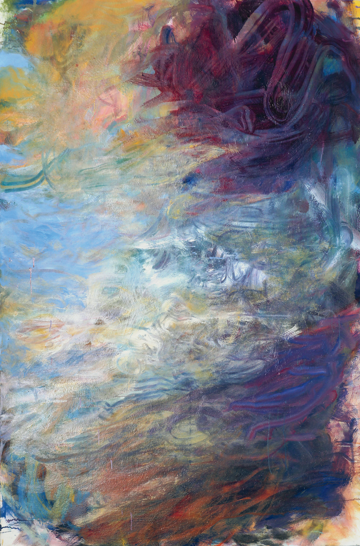 Frank Holliday, Sky Lark (2012). Oil on canvas. 183 × 123 cm. Courtesy the artist and Partners & Mucciaccia Modern & Contemporary Gallery, Rome/Singapore/London/Cortina D'Ampezzo.