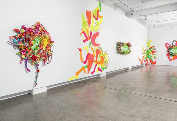 Installation view: Hiromi Tango, Fluorescence, Sullivan+Strumpf, Sydney (1–22 August 2015). Courtesy the artist and Sullivan+Strumpf, Singapore/Sydney