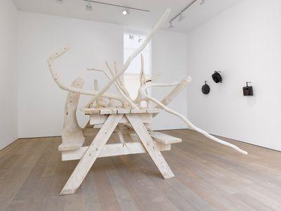 Exhibition view: American Food, Lisson Gallery, London (12 March–31 July 2020). © Hugh Hayden.