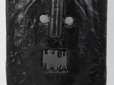 Hugh Hayden, Jazz 18 (2020). Cast iron. 50 x 24.5 x 13 cm. © Hugh Hayden.