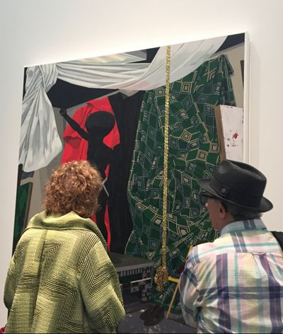 Exhibition view: Kerry James Marshall: Mastry, MCA Chicago (23 April–25 September 2016).