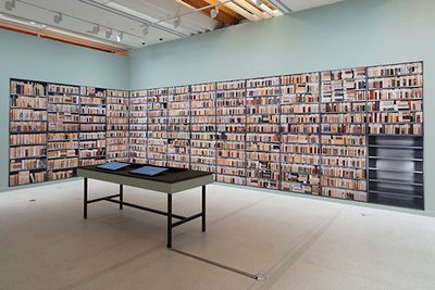 Exhibition view: Ann Shelton, Dark Matter, Auckland Art Gallery Toi o Tāmaki (26 November 2016—17 April 2017). Photo: Sam Harnett.