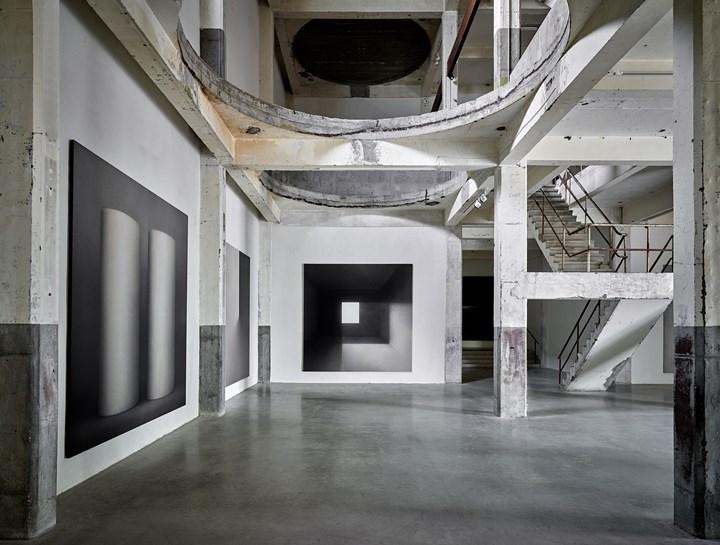 Exhibition view: Marco Tirelli, Axel Vervoordt Gallery, Antwerp (9 June–25 August 2018). Courtesy Axel Vervoordt Gallery.