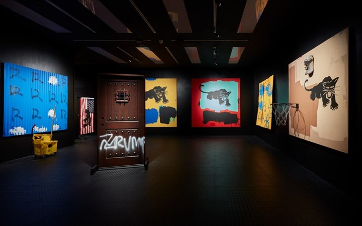Exhibition view: Awol Erizku, Make America Great Again, Ben Brown Fine Arts, London (21 April–2 June 2017). Courtesy Ben Brown Fine Arts.