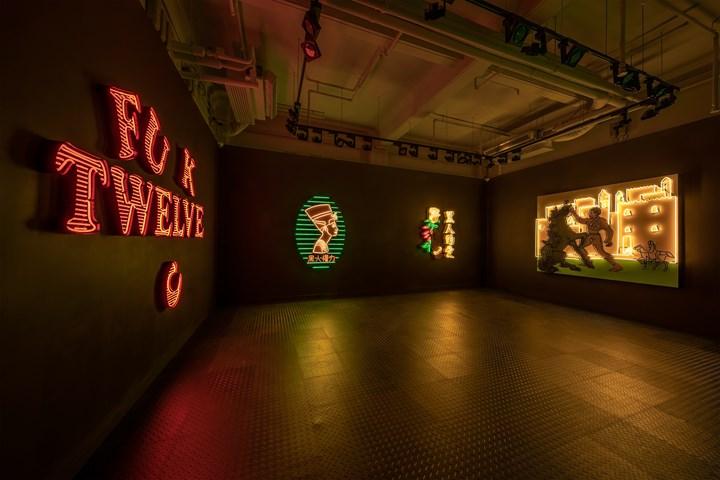 Exhibition view: Awol Erizku, Slow Burn, Ben Brown Fine Arts, Hong Kong (18 May–21 July 2018). Courtesy Ben Brown Fine Arts.